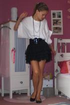 BBonJ shirt - H&M belt - H&M skirt - H&M shoes