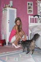 pink babaydoll Aeropostale top - pink high heels Yesstyle shoes
