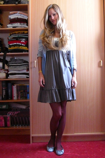numph jacket - CC-00 dress - Hudson tights - Pretty Ballerinas shoes - weedbeat