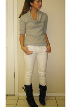 Forever 21 pants - Express top - Aldo boots