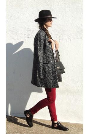 Lefties coat - Lefties shoes - Pimkie old shirt - stradivarius old pants