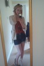 Diesel-shorts-thick-knit-h-m-cardigan-primark-top