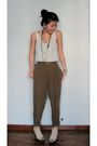 White-unknown-top-brown-zara-pants-beige-jeffrey-campbell-shoes-black-fore