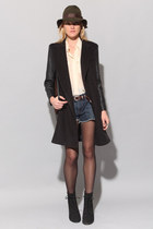 black coat BV coat