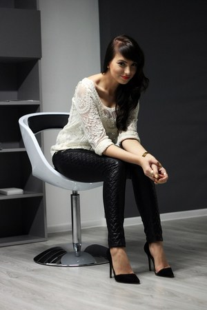 eggshell Sheinsidecom blouse