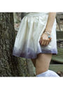 Beige-diy-skirt-white-forever-21-top-white-h-m-socks-gray-h-m-hat-brown-