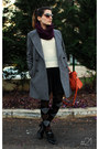 Charcoal-gray-boyfriend-fit-zara-coat-ivory-with-hearts-tsc-sweater