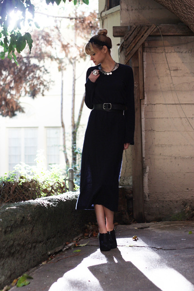 blue Comme des Garcons dress
