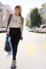 White-modcloth-top-black-american-apparel-pants-beige-needsupply-shoes-pin