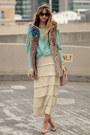 Nude-loeffler-randall-shoes-beige-hobo-bag-aquamarine-topshop-blouse-ivory