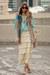 aquamarine Topshop blouse - nude loeffler randall shoes - beige HOBO bag