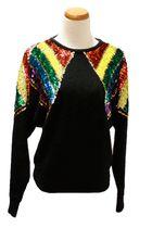 black vintage sweater