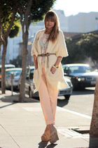 beige Surfce to Air pants - white modcloth top - white modcloth sweater - beige