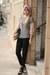 black vince pants - black loffler randall shoes
