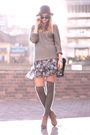 Gray-zara-sweater-gray-chic-swap-skirt-gray-asos-socks-brown-forever21-sho