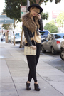 Black-cheap-monday-pants-beige-rebecca-minkoff-purse