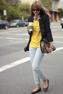 Yellow-zara-top