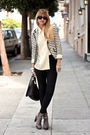 white bird by juicy couture blazer - gray Sam Edleman via Nastygal shoes