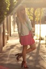 Hot-pink-h-m-skirt