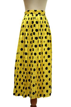yellow Louis Feraud skirt