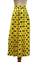 yellow Louis Feraud skirt