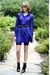 Beige-american-apparel-shorts-pink-persephone-vintage-blazer