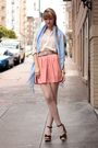 Black-modcloth-shoes-pink-american-apparel-skirt-blue-love-quotes-scarf-pi
