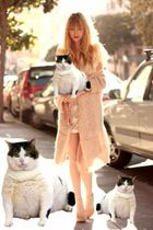 white fat cat accessories