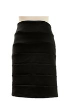 black Central Park West skirt