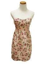 pink monteau dress
