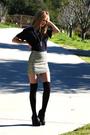 Gold-h-m-skirt