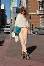 Beige-surface-to-air-pants-beige-pierre-hardy-for-gap-shoes