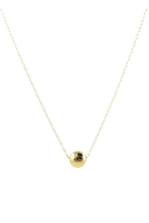 gold Peggy Li Creations necklace