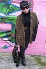 Green-gucci-coat-black-all-saints-cardigan-black-h-m-jeans-black-stephen-c