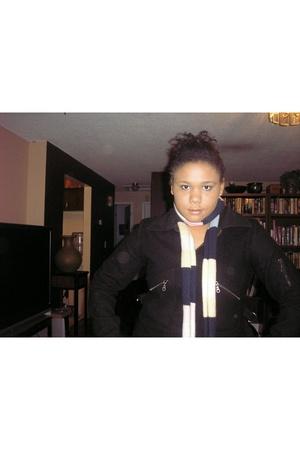 Dillardscom jacket - forever 21 scarf