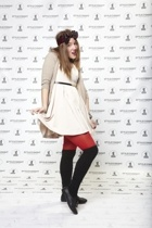 H&M dress - River Island belt - - H& tights