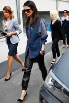 blue JBrand blouse