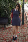 Zara-dress-asos-socks