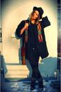 Studded-sam-edelman-boots-vintage-hat-navajo-vintage-from-ebay-jacket