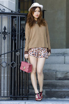 H&M sweater - Vero Moda blouse
