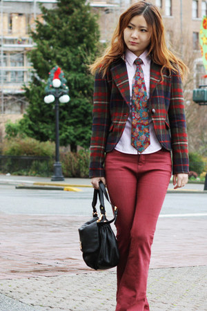 Esprit blazer - Marc by Marc Jacobs bag - Urban Outfitters pants
