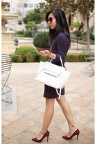 Celine bag - Autumn Cashmere dress - Charles David heels