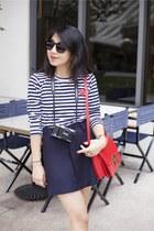 comme des gracons shirt - Alexander Wang boots - Celine bag