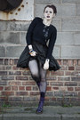 Leather-dr-martens-boots-quilted-silk-allsaints-dress
