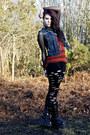 Rocker-sella-boots-holey-urban-outfitters-leggings