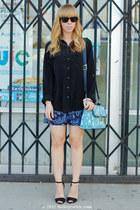 Zara heels - Jason Wu for Target bag - Old Navy blouse