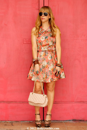 Sugarlips dress - Aldo bag - Mossimo wedges