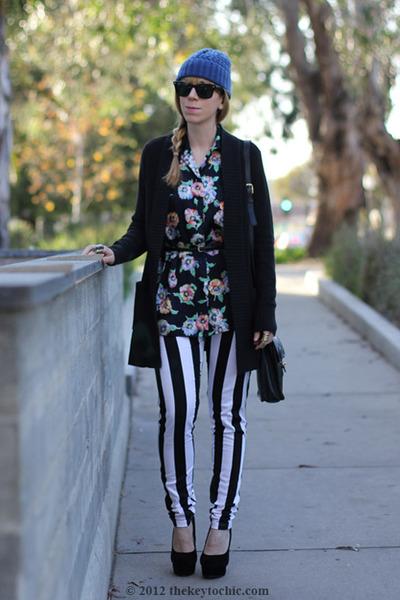 Motel jeans - vintage coach bag - vintage escada blouse