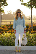 H&M shirt - H&M heels