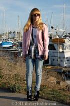 velvet glitter Charlotte Russe boots - Cheap Monday jeans